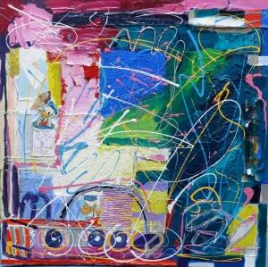 Mixed Media on Canvas 2012