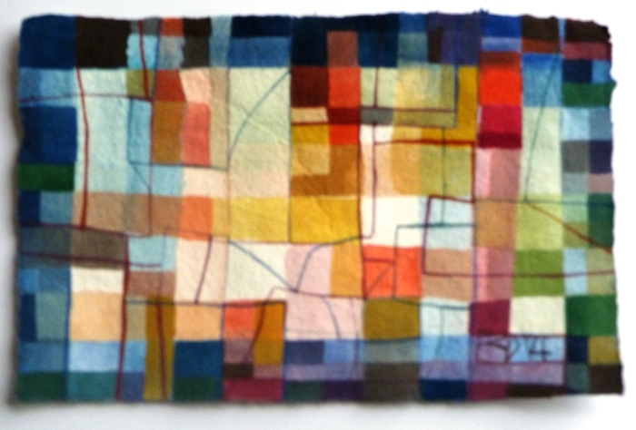 LONG AND HARD. Watercolour on Handmade Paper. 25 x 16 cm. 2014.