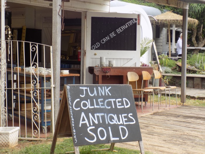 JUNK COLLECTED ANTIQUES SOLD
